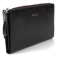 Стильный прочный удобный женский кошелек барсетка высокого качества FUERDANNI art. F 080-3 черный, фото 1