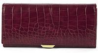 Акуратний жіночий гаманець класика з якісною еко шкіри SARALYN art. 6435 вишневий, фото 1