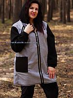 Женский кардиган большие размеры( с 50 по 64 размер)