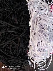 Резинка для медицинских масок,2, 3, 4, 6, 9мм- белая и черная в наличии. Распродажа