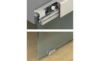 Шина ходова одинарна Hafele 31х33мм алюміній без покриття 3.0м з отворами