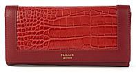 Класичний жіночий цікавий гаманець з якісної еко шкіри TAILIAN art.8806-073 червоний, фото 1