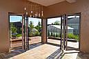 Двери гармошка из алюминиевого профиля, фото 6