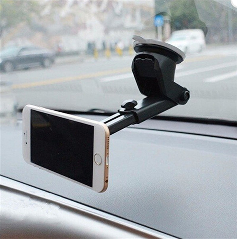 Магнитный  держатель для телефона в авто  на длинной ножке на присоске  Cobao F2-058