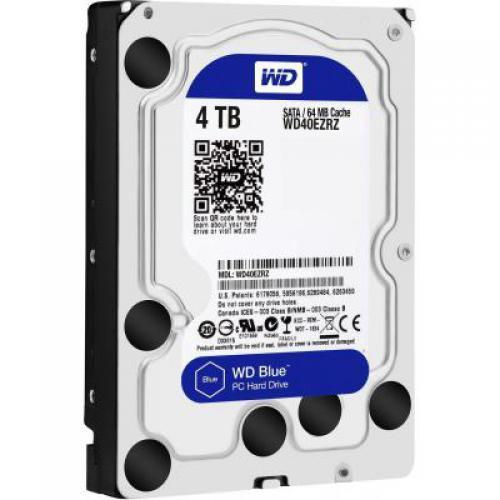 Жесткий диск SATA 4Tb WD 64Mb Blue (WD40EZRZ)