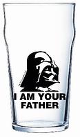 Бокал для пива 570 мл Star Wars Darth Vader ОСЗ
