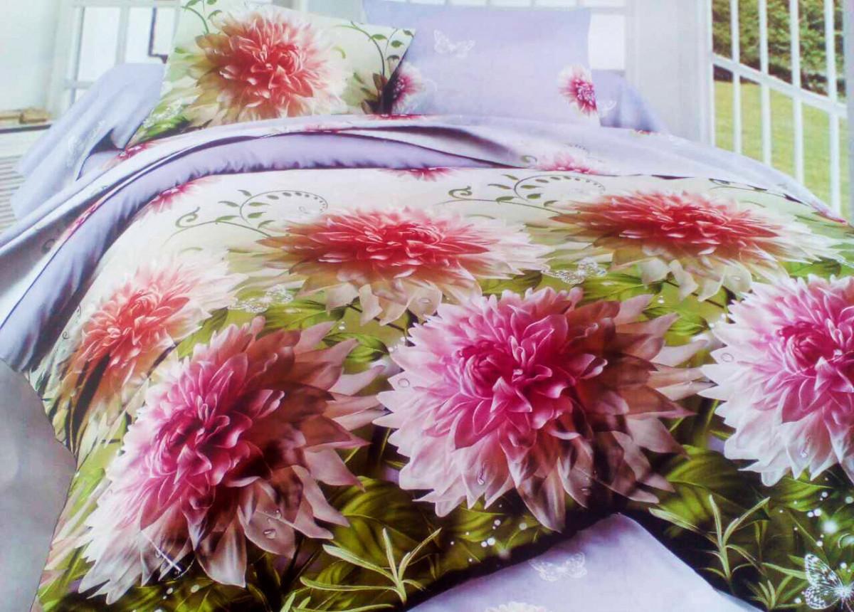 Комплект постельного белья от украинского производителя Polycotton Двуспальный T-90904