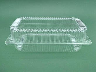 Одноразова форма для десертів ПС-120 V1550мл 230*130*78мм уп 50 штук