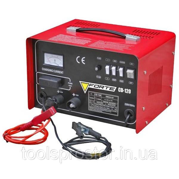 Пуско - зарядное устройство Forte CD-120 : 50 - 300 А·ч | Гарантия 1 год