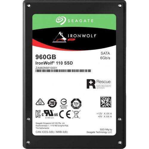 "Диск SSD SATA 2,5"" 960GB Seagate IronWolf 110 3D TLC (ZA960NM10011)"