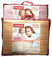 Электрическая простынь Yasam 120x160 - Турция (Электро простынь - термошов - байка) T-55003, фото 1