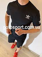Мужской спортивный костюм (футболка и шорты) Adidas Confrontation, фото 1