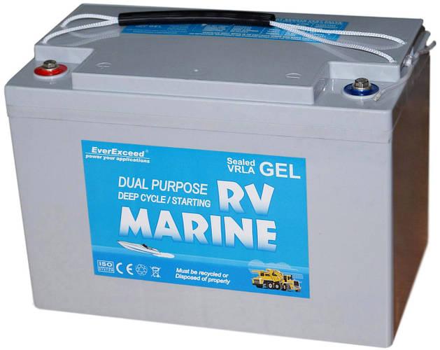 Гелевый аккумулятор EverExceed Marine Gel 8G27M