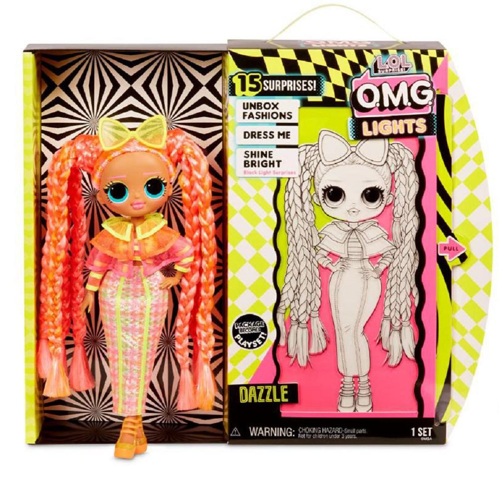 Игровой набор с куклой L.O.L. Surprise! серии O.M.G. Lights - Блестящая Королева 565185