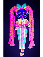 Игровой набор с куклой L.O.L. Surprise! серии O.M.G. Lights - Блестящая Королева 565185, фото 3