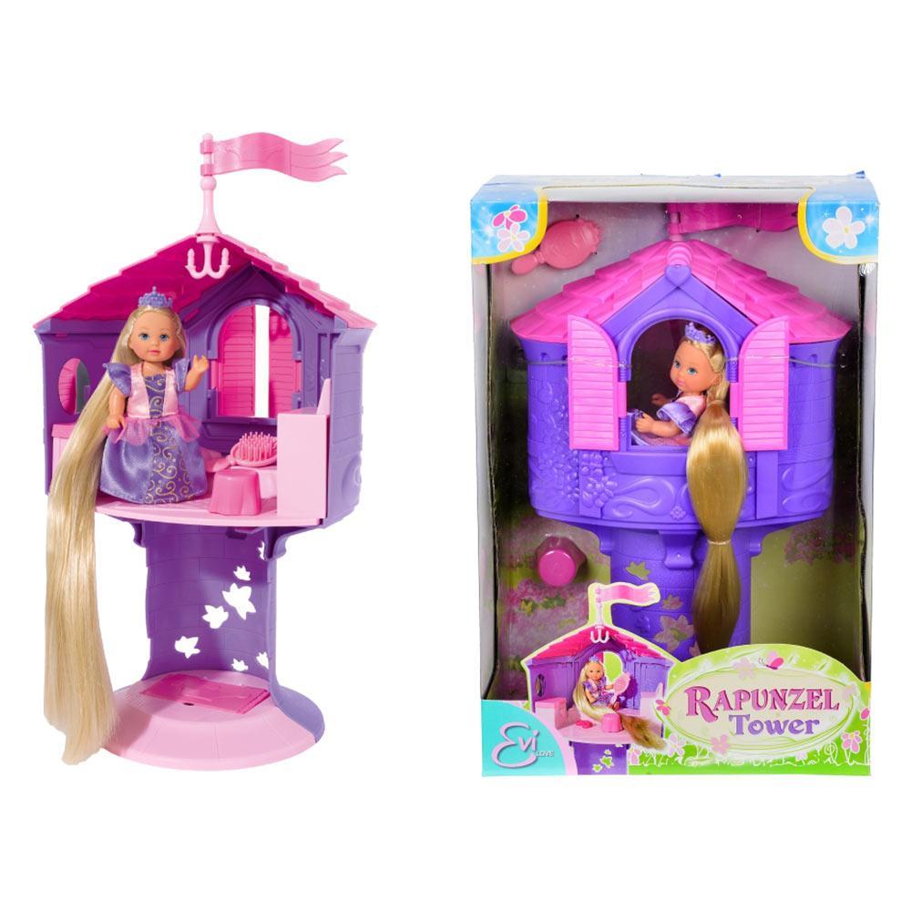 Уценка Кукла Ева «Рапунцель в башне» Evi Love Simba 5731268