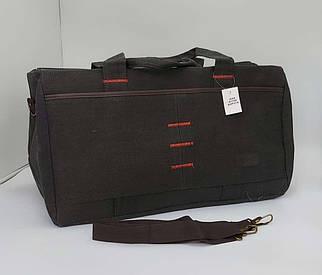 Дорожная сумка черного цвета 54*33*28 см