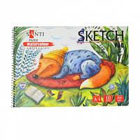 "Альбом для акварели SANTI ""Wonderland"", А4, ""Paper Watercolour Collection"", 10 л., 200г/м2, 742603"