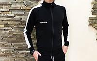 Мастерка олимпийка мужская спортивная кофта Miracle - Rubber black/white