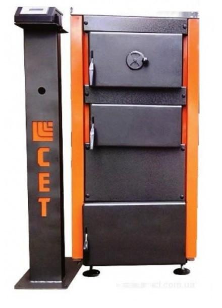 Твердопаливні котли для приватних будинків і заміських котеджів з ручним завантаженням палива СЕТ 50Р (50 кВт)