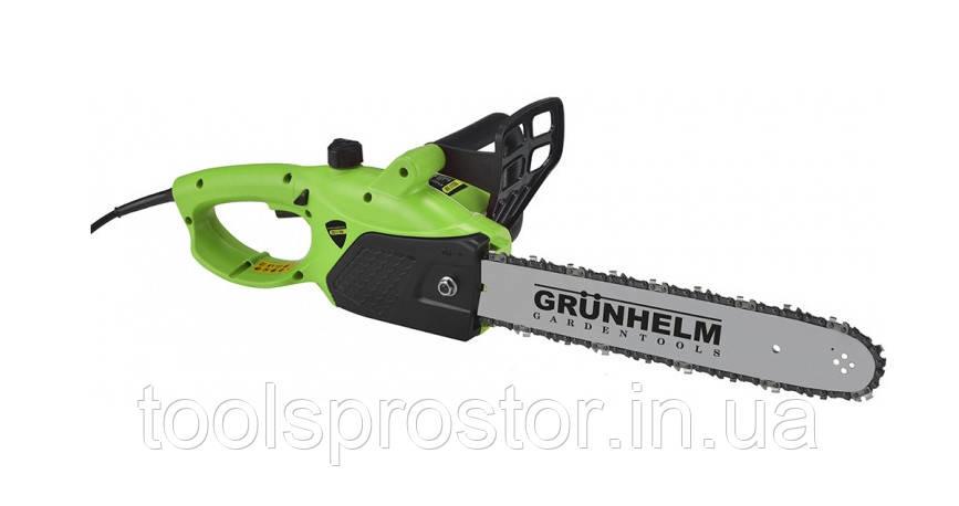 Цепная пила Grunhelm GES17-35B : 1700 Вт | 8500 об/мин