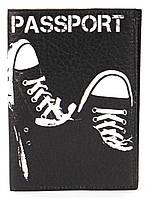 Дизайнерская обложка для паспорта с эко кожи art.104250, фото 1