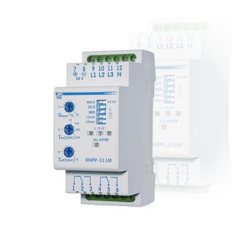 Реле напруги і контролю фаз РНПП-311М