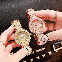 Женские популярные наручные часы с камнями