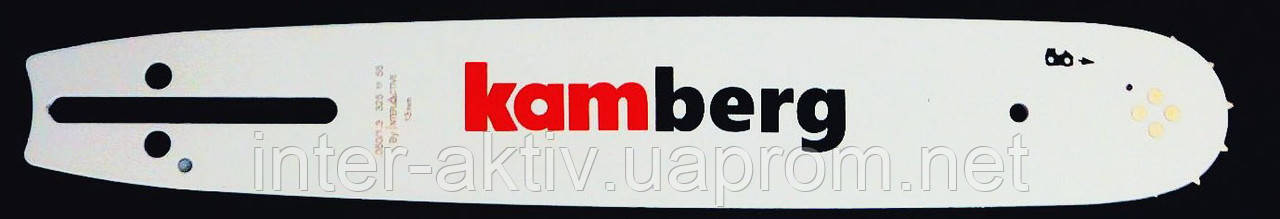 Шина для бензопили 64 зв. 0.325 крок 1.3 паз Kamberg