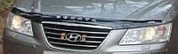 Дефлектор капота (мухобойка) Hyundai Sonata (NF) 2004-2009, Vip Tuning, HYD09