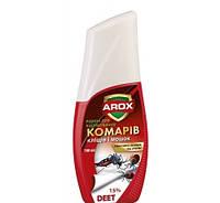 Жидкость от комаров клещей и мушек 50 мл Arox
