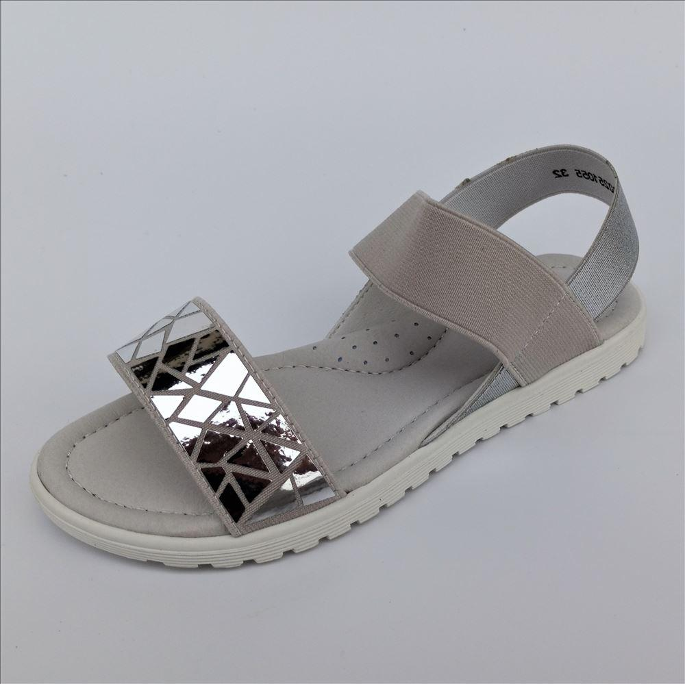 Босоніжки на гумці срібло, Weеstep розміри: 34-36