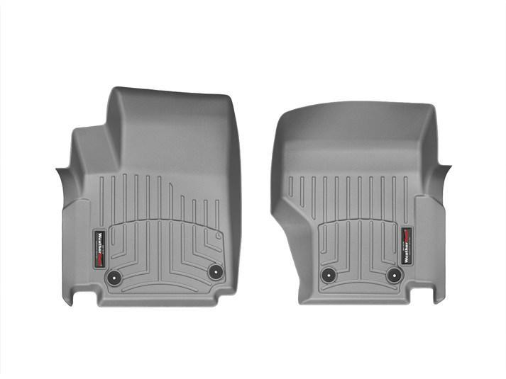 Ковры резиновые WeatherTech VW Amarok  передние серые