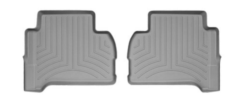 Ковры резиновые WeatherTech VW Amarok  задние серые