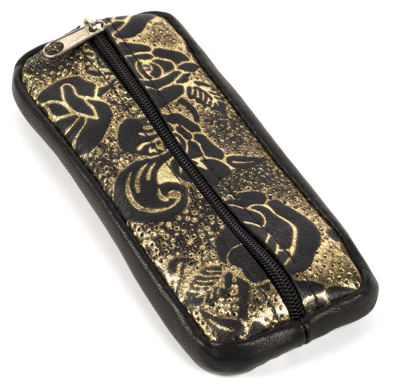 Стильная кожаная ключница с натуральной кожи ручной работы art.  (104290)
