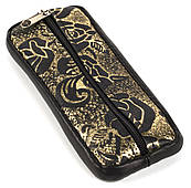 Стильна шкіряна ключниця з натуральної шкіри ручної роботи art. (104290)