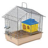 Клетка Природа Джунгарик для грызунов с домиком, 30х20х24 см, фото 2