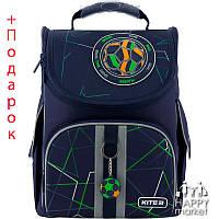 Рюкзак школьный ортопедический каркасный Kite Education Football K20-501S-2