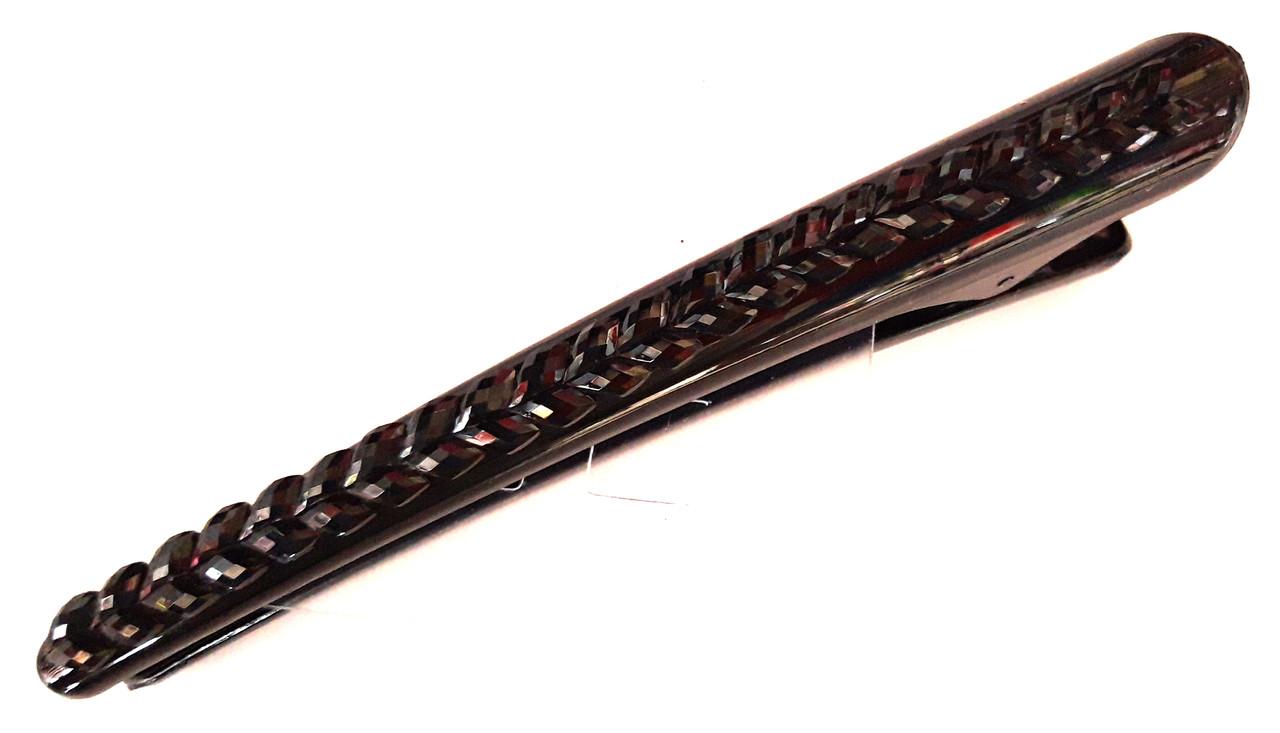 Заколка для волос стрела 12 см пластик, черная
