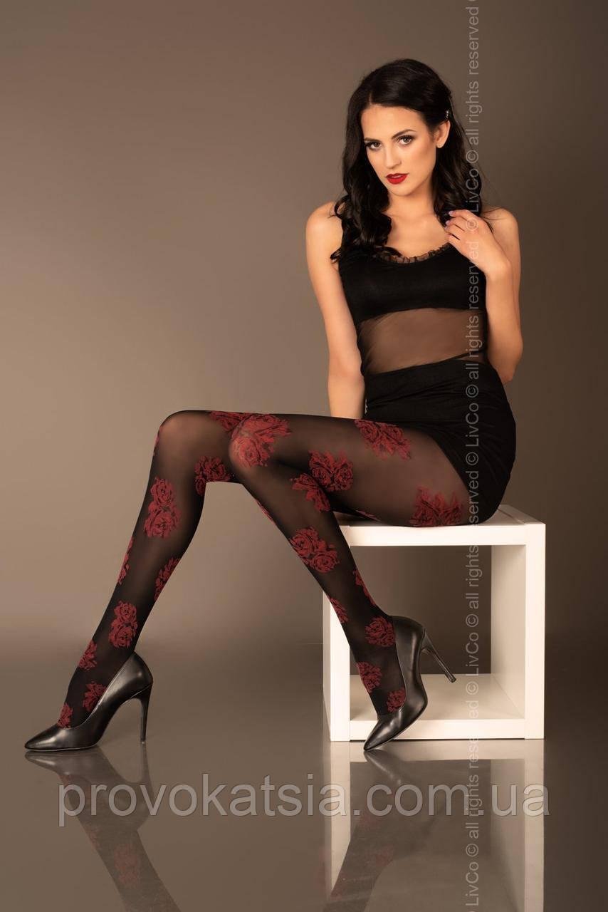 Rimene 40 den колготи чорні Livia Corsetti Fashion