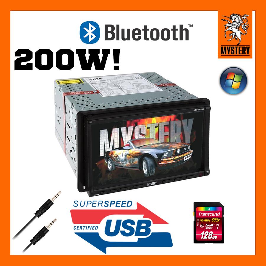 Автомагнитола 2 дин магнитола Mystery MDD-7800BS