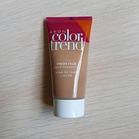 Бархатный тональный крем для лица Блеск контроль Natural Color Trend Avon