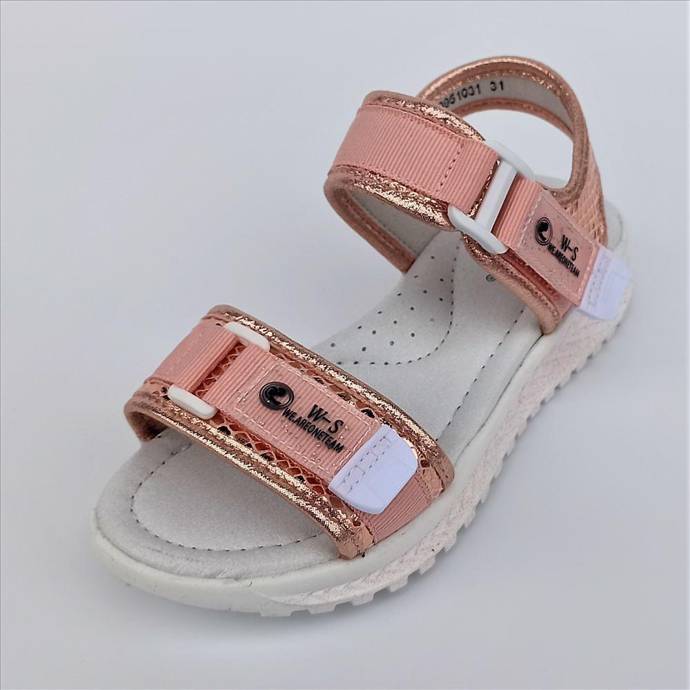 Спортивные босножки розовые, Weеstep размер 31 32 35