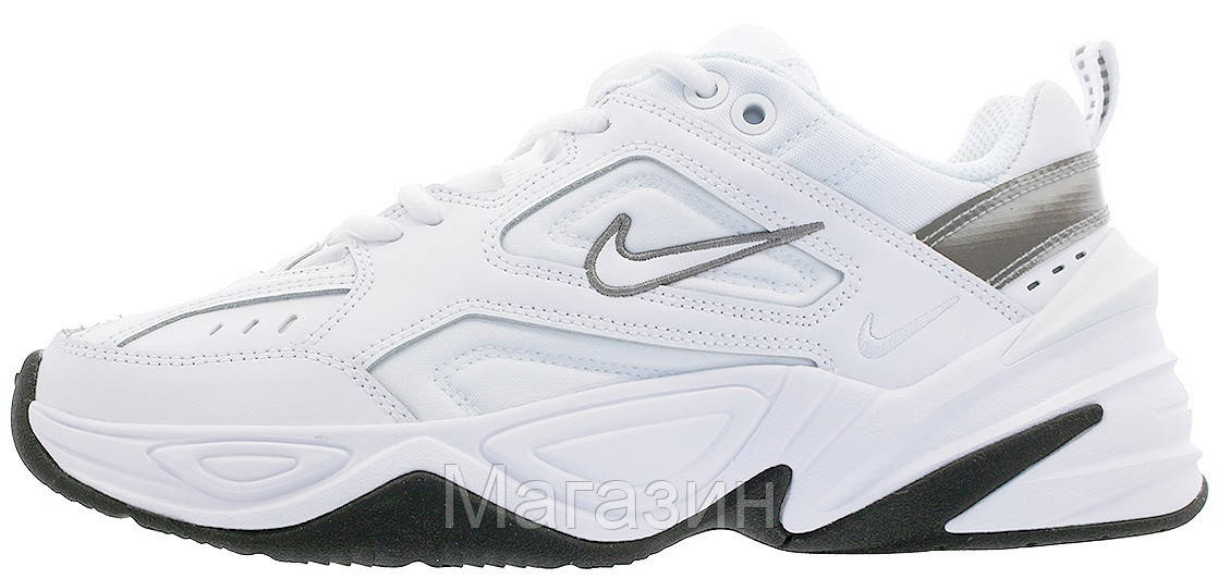 Мужские кроссовки Nike M2K Tekno White (Найк Текно) бежевые