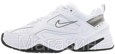 Мужские кроссовки Nike M2K Tekno White (Найк Текно) бежевые, фото 2