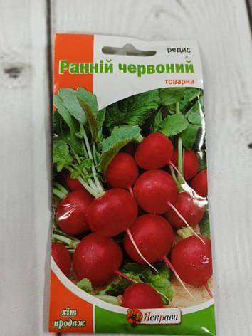 Семена редис ранний красный, фото 2