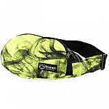 Бананка, сумка на пояс, сумка через плечо TIGER FANTASY ЗЕЛЕНЫЙ, фото 3