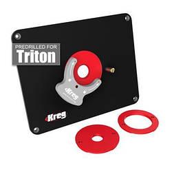 Пластина Kreg для кріплення фрезера CMT, Triton