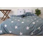 Полуторное постельное белье Бязь Gold - Созвездие Альфы серая, фото 5