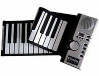 Гибкая MIDI клавиатура, синтезатор, пианино, 61 кл